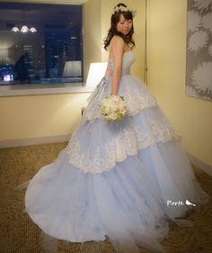 花嫁様からのお便り。。。グリーンと白のナチュラルなクラッチブーケ |Wedding Flower・ぽると のブログ