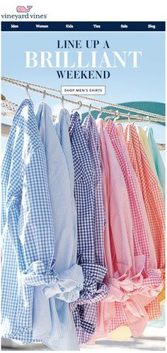 Brilliant #shirts + #ties... Keep your #color options open. vineyard vines