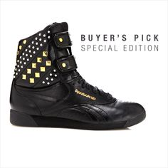 """Grab that """"Girl on Fire"""" feeling with this unique spin on the classic #Reebok Freestyle sneaker by Alicia Keys!"""