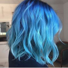 Sometimes you have the blues. Color by @kellymassiashair  #hair #hairenvy #hairstyles #haircolor #blue #bluehair #newandnow #inspiration #maneinterest