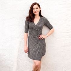 @dankajx on Instagram (from the Stitches and other stories blog) posted this Rachel recently. She forgot to add seam allowances, but it still looks great on her! Search #rachelwrapdress for more!