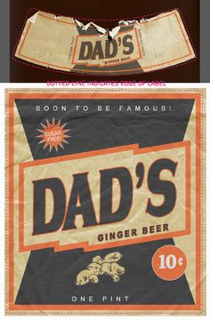 Loving this label! The style would be very sweet for our homebrew ginger beer wedding bevvy. Beer Wedding, Homebrewing, Ginger Beer, Beer Label, Something Old, Best Beer, Friend Wedding, My Best Friend, Sugar Free