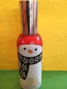 Bath & Body Works Vanilla Snowflake Home Fragrance Spray