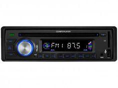 CD Player Automotivo Leadership Iron MP3 - USB com Entrada Auxiliar