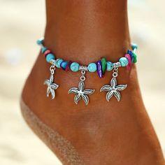 Foot Bracelet, Anklet Bracelet, Silver Anklets, Beaded Anklets, Silver Jewelry Box, Silver Ring, Silver Earrings, 925 Silver, Jewlery
