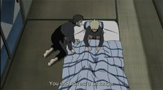I want Yamato to tuck me into bed!!!