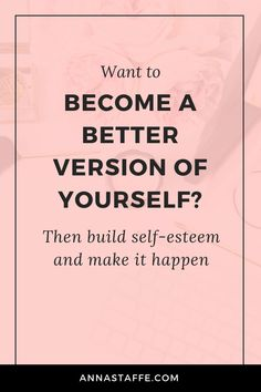 Do you ask yourself 'what is self esteem building'? Then this post is for you. You'll learn self esteem therapy for adults + tools to boosting your self esteem. This will also boost your self love. Save this pin and click through to read the post. Self Development Books, Development Quotes, Personal Development, Building Self Esteem, Confidence Building, Self Esteem Activities, Happy Sunday Quotes, Self Confidence Tips, What Is Self