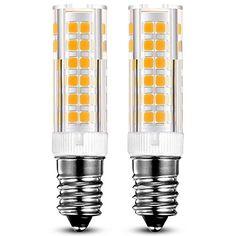 FR-E14-7W-2-Pack: 2 pièces Lot. Ampoule à incandescence 60 W équivalent. 360 ° angle de faisceau, omni directionnel Température de couleur…