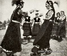 Traditional festive costume from Bulgaria