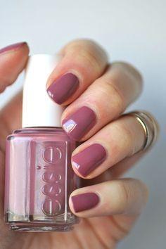 Essie Mauves : Island Hopping   Essie Envy - #nails #stiletto #stilettonails #nail