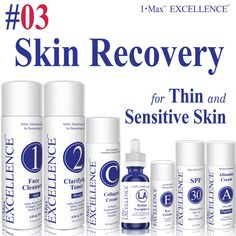 c7803ae2e4e I Max EXCELLENCE #03 Skin Recovery Set for Thickening, Younger Skin &  Foundation