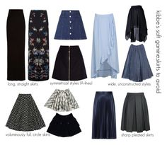 kibbe's soft gamine.skirts to avoid                              …                                                                                                                                                                                 More
