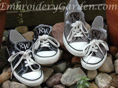 How to Monogram Converse Shoes