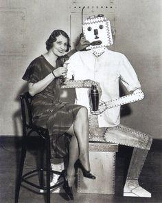 """""""Robot"""" Bartender, 1930's."""