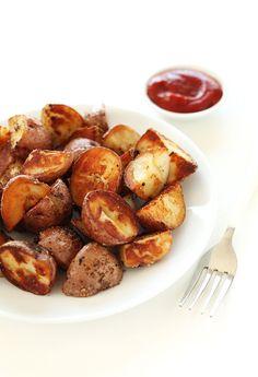 Simple, 3-step breakfast potatoes. Literally the BEST breakfast potatoes I've ever had #vegan #glutenfree