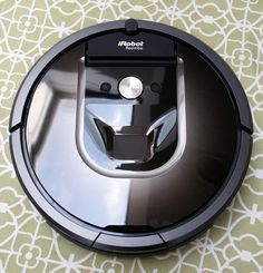 The new Roomba 980 is iRobot's first Wi-Fi enabled robot vacuum, and also the first to clean up an entire floor of a house in a row-by-row sweep