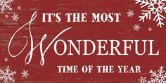 It's The Most Wonderful Time by Summer Snow