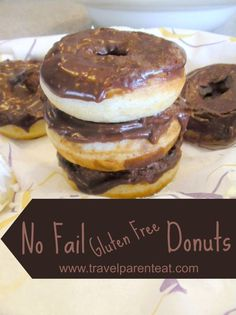 No Fail Gluten Free Donuts