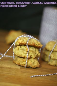 Love these cookies and they are light.  Oatmeal, Coconut, Cereal Cookies www.fooddonelight.com
