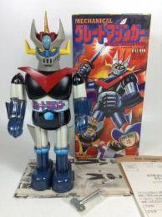 Great Mazinger Billiken Vintage Tin Toy Unused Wind up toy Anime JAPAN 459 #BillikenShokai