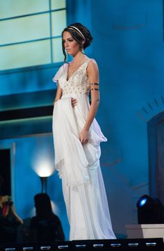 Greece national dress for Miss Universe