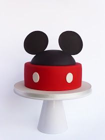 Peaceofcake ♥ Sweet Design: Mickey Cake • Bolo Mickey