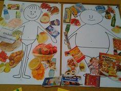 Nutrition activities, craft activities for kids, crafts for kids, vegetab. Healthy Food Activities For Preschool, Nutrition Activities, Craft Activities For Kids, Preschool Activities, Crafts For Kids, Healthy And Unhealthy Food, Healthy Kids, Food Pyramid, Hygiene