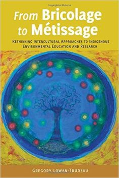 From Bricolage to Métissage: Rethinking Intercultural Approaches to Indigenous Environmental Education and Research (Gregory Lowan-Trudeau) / GF50 .L69 2015 / http://catalog.wrlc.org/cgi-bin/Pwebrecon.cgi?BBID=15086302