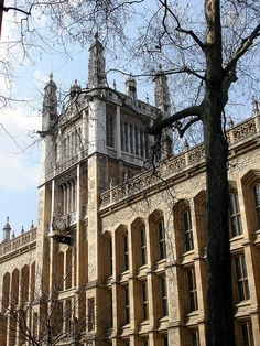 King's College London Library. 'This is what the letter tells me, informing me coolly that I will begin my BSc in management at King's College, London in early October' The Outline of Love, p.5