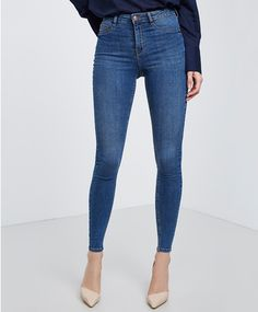 Molly highwaist jeans, 299 NOK | @giftryapp