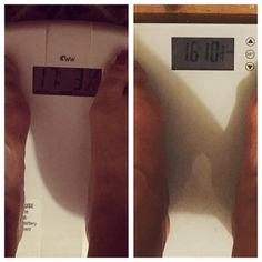 Fitter.Thinner.Happier: Wednesday Weigh In - week 3. That's better!