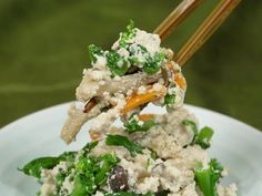 Shiraae (Mixed Tofu and Spring Vegetables) 白和え 作り方レシピ - YouTube