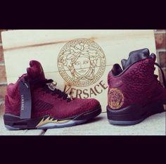 Custom Versace 5's!!!