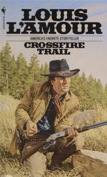 """Read """"Crossfire Trail A Novel"""" by Louis L'Amour available from Rakuten Kobo. Rafe Caradec—gambler, wanderer, soldier of fortune—was as hard a man as the battlefields and waterfronts of Latin Americ. Good Books, Books To Read, My Books, Forever Book, Western Comics, Books For Boys, Classic Books, Book Authors, Pulp Fiction"""