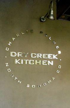 Charlie Palmer's Dry Creek Kitchen in Healdsburg, California. Zippertravel.com Digital Edition