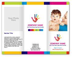 Hand Paint Childcare Brochures - YouPrint