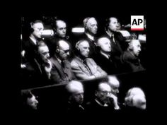 Oct A military cordon was thrown around the Court House in Nuremberg as the hour for the verdict approached. The first to be sentenced was Goering a. Law Of War, Nuremberg Trials, The Verdict, Never Again, December 7, Accusations, World War Ii, Ww2, Sentences