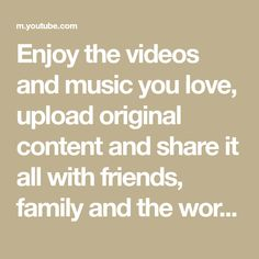 Enjoy the videos and music you love, upload original content, and share it all with friends, family, and the world on satsang Dj Songs, Love Songs, Whatsapp Videos, Easy Face Masks, Youtube, Macaron, How To Plan, How To Make, Just In Case