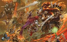 dungeons and dragons, Action | Art Dungeons and Dragons Wallpapers