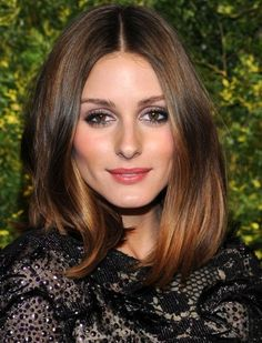 Olivia Palermo rocking the long bob and ombre hair... lovin' it!