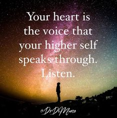 Are you listening?You have three minds. Which one are you listening to?  Our thought mind speaks to us through our brains.  We have the body mind that speaks to us through our body.  Finally we have the part of our selves that is pure energy  #mindfulness #meditation #heart #selflove #quotes #mindbodysoul