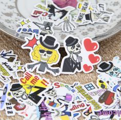 Aliexpress.com : Buy 40pcs Funny Rock Skull Expression English Cute Scrapbooking Stickers DIY Craft DIY Sticker Pakc Photo Albums Deco Diary Deco from Reliable diaries book suppliers on Candy DIY Store