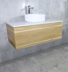 Eden Timber Wall Mount Vanity Cabinet without Top 900mm