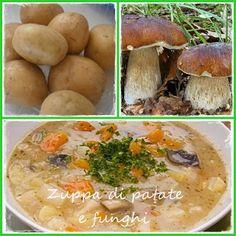 Blog di Olga: Zuppa di patate e funghi