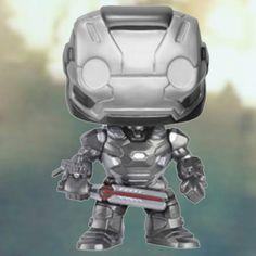 Marvel Captain America Civil War War Machine Pop! Vinyl Figure #WarMachine #PopVinyl #Marvel