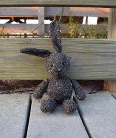 Stuffed Bunny Rabbit ♥ Alpaca Toy ♥ Wool Toy ♥ Handmade Doll ♥ Knit Toy ♥ Soft…