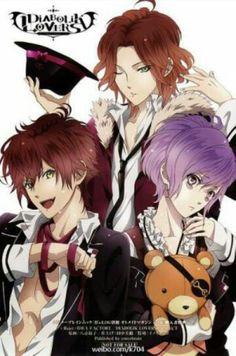 Diabolik Lovers- Laito, Kanato, Ayato