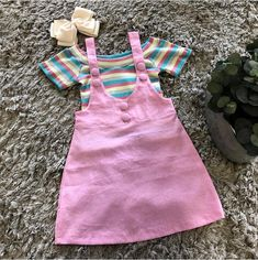 Best 11 The Abigail pinafore – SkillOfKing. Baby Girl Fashion, Toddler Fashion, Kids Fashion, Baby Born Clothes, Cute Baby Clothes, Frocks For Girls, Little Girl Dresses, Kids Dress Wear, Baby Dress