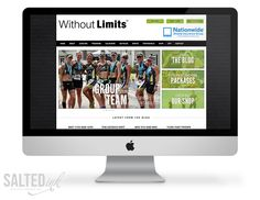 Without Limits Coaching Website Design by Salted Ink #website #design #web