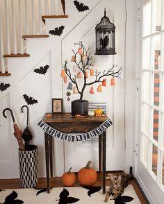 #Halloween #idea #Halloweenparty #decoration #decor #home #kids #preschool #prek #October #kids #children #parenting #decorate #creative #DIY #craft